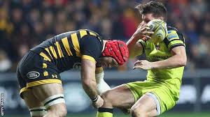 rugby player with concussion