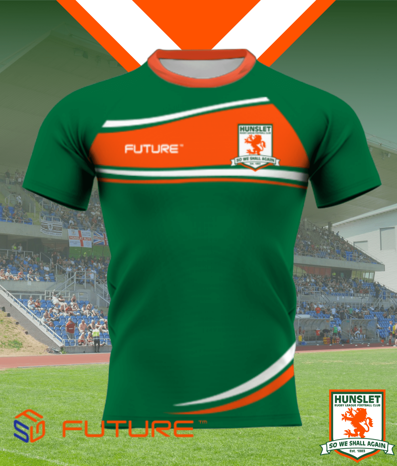 Future Training Shirt - Myrtle