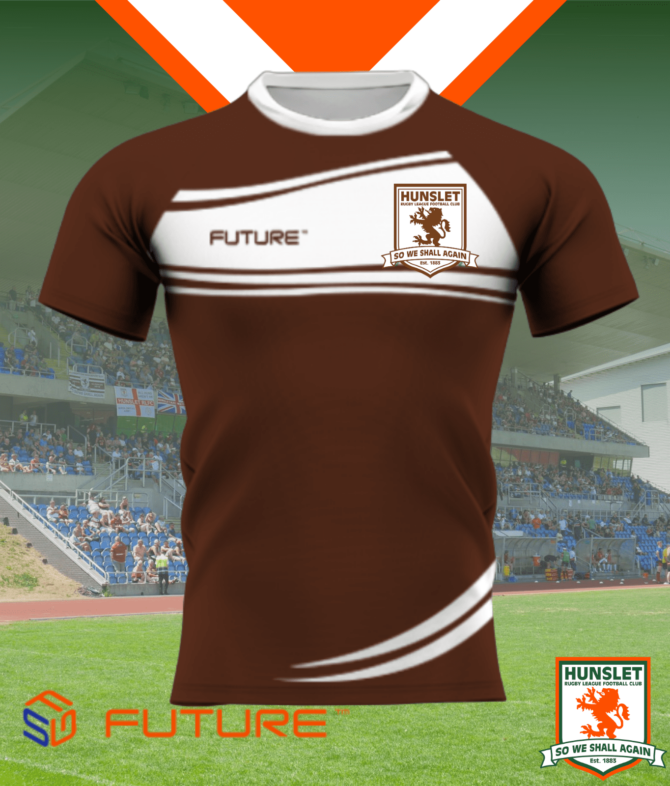 Future Training Shirt - Chocolate