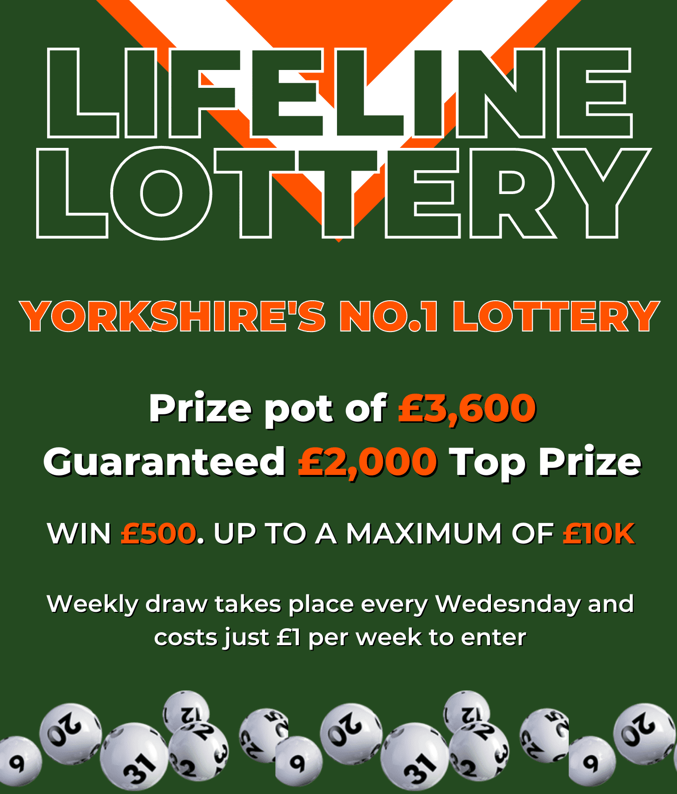 Lifeline Lottery (Two Numbers)